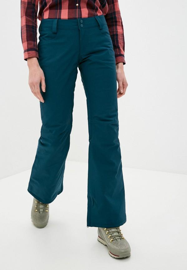 женские брюки billabong, бирюзовые