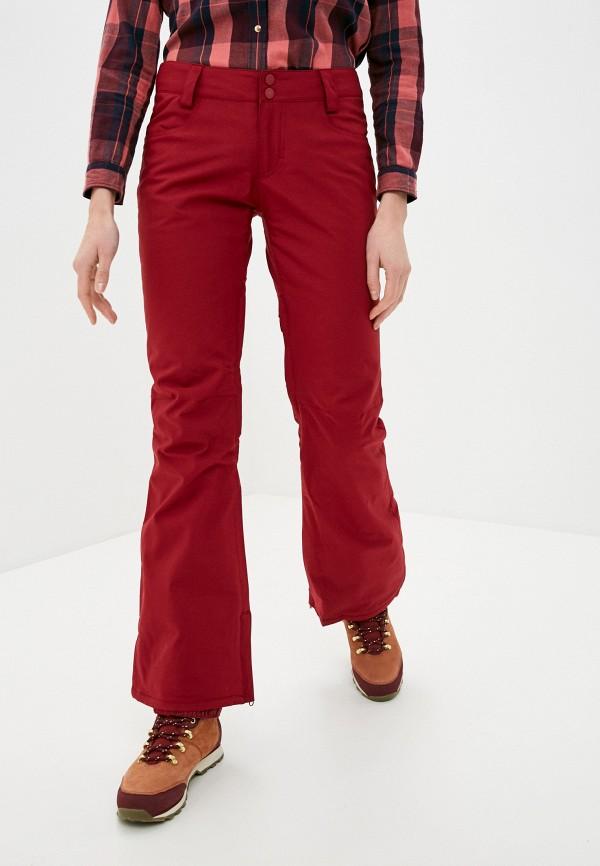 женские брюки billabong, красные
