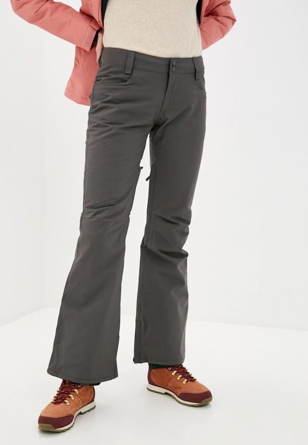 женские брюки billabong, серые
