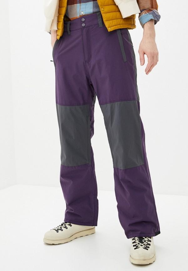 мужские брюки billabong, фиолетовые