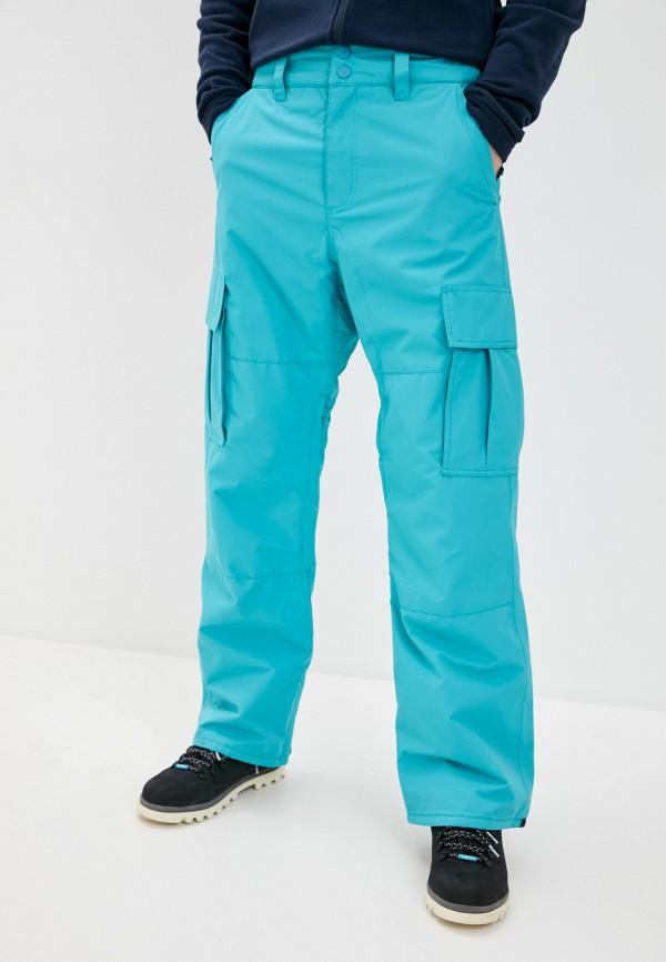 мужские брюки billabong, бирюзовые