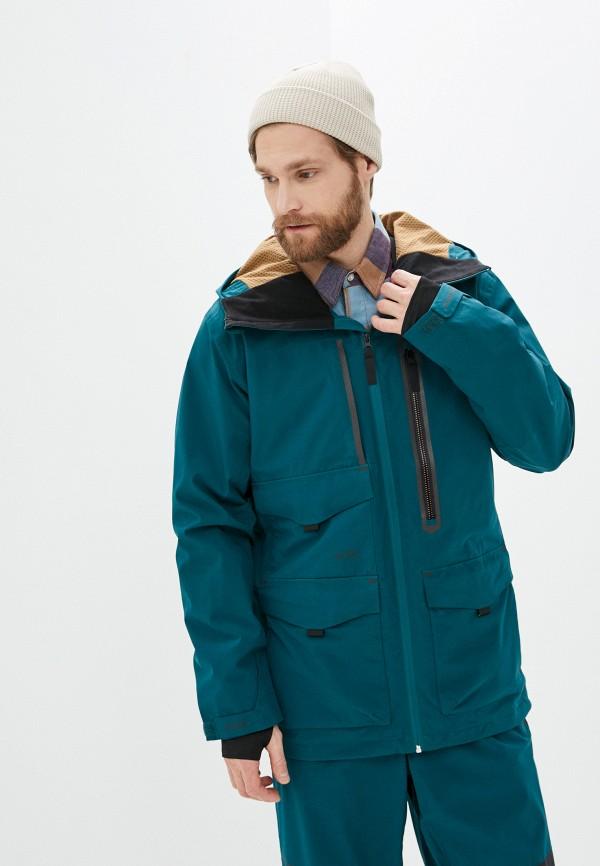 мужская куртка billabong, зеленая