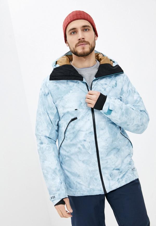 мужская куртка billabong, голубая