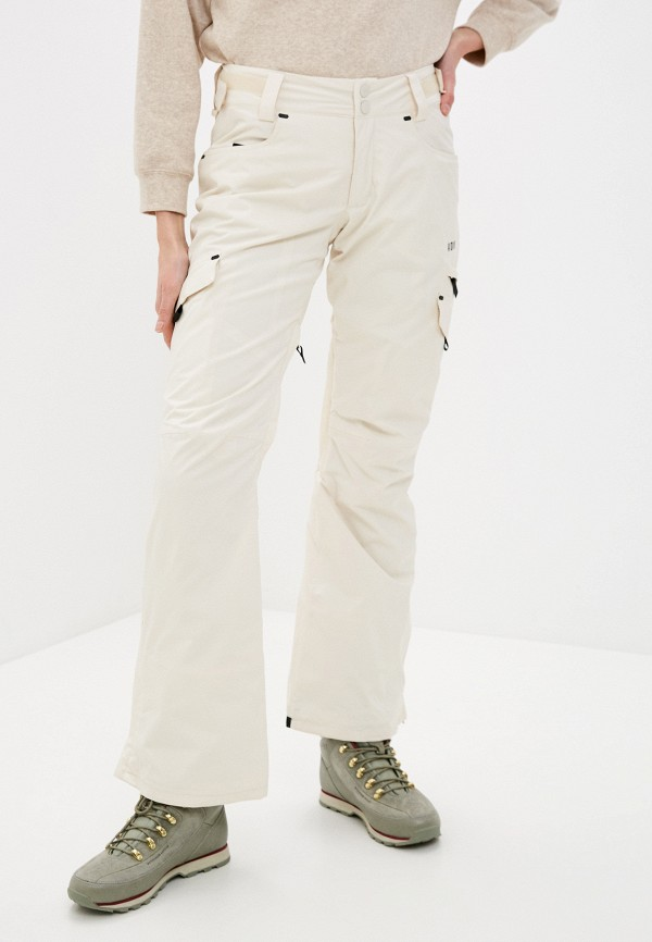 женские брюки billabong, бежевые