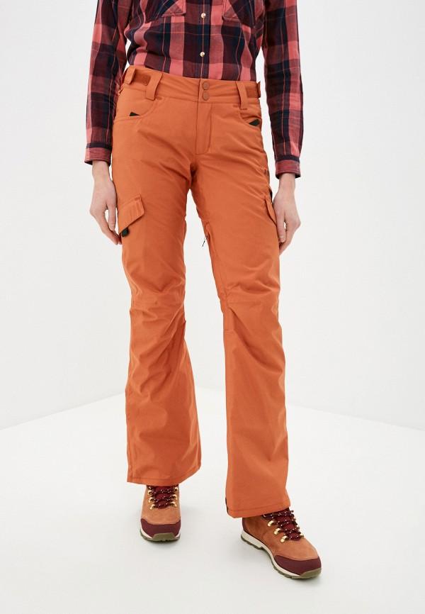 Брюки сноубордические Billabong оранжевого цвета