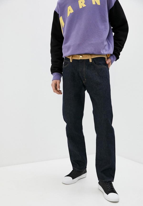 мужские прямые джинсы marni, синие