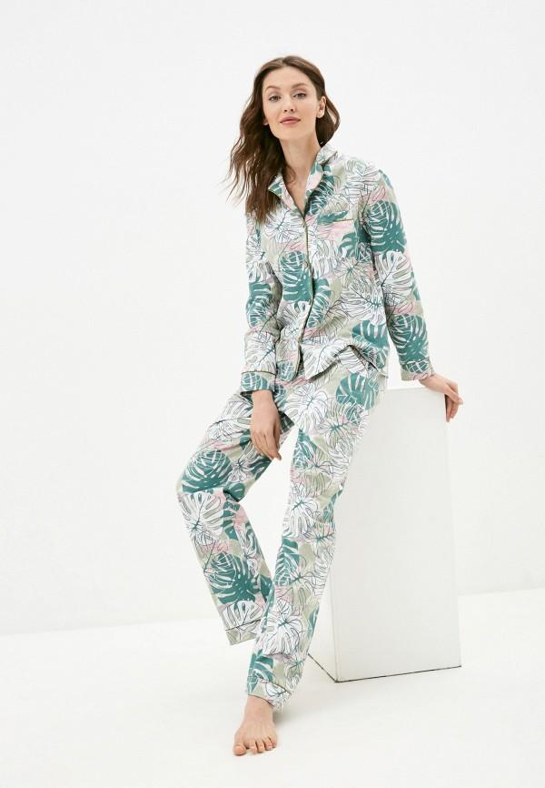 женская пижама winzor, зеленая