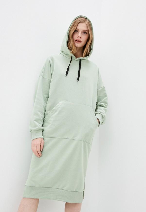 женское платье winzor, зеленое