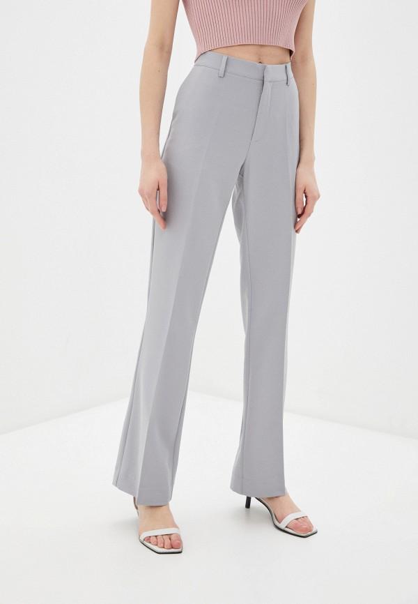 женские классические брюки ichi, серые