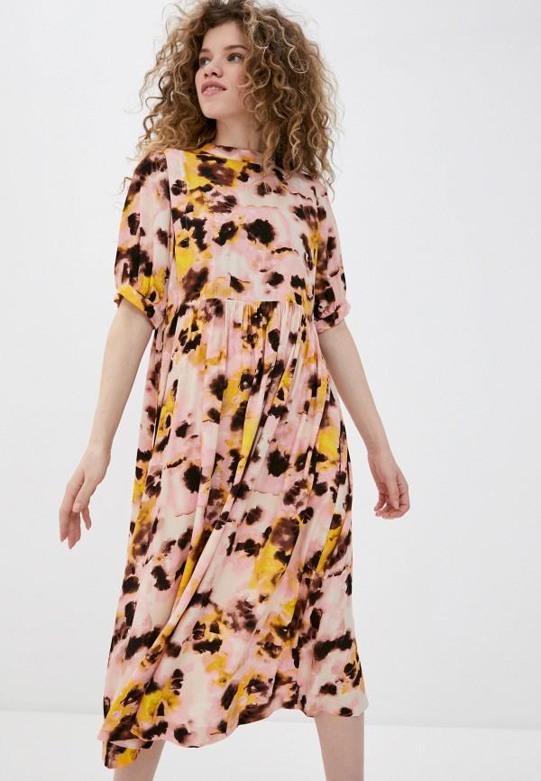 женское повседневные платье ichi, разноцветное