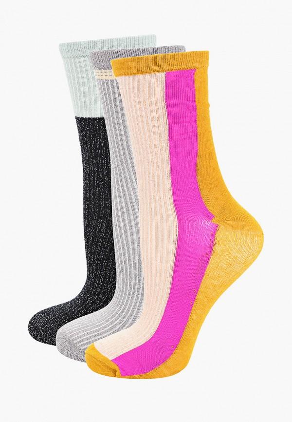женские носки ichi, разноцветные