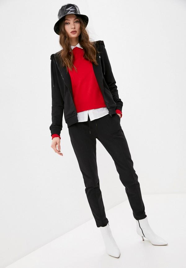 женский спортивный костюм love moschino, черный