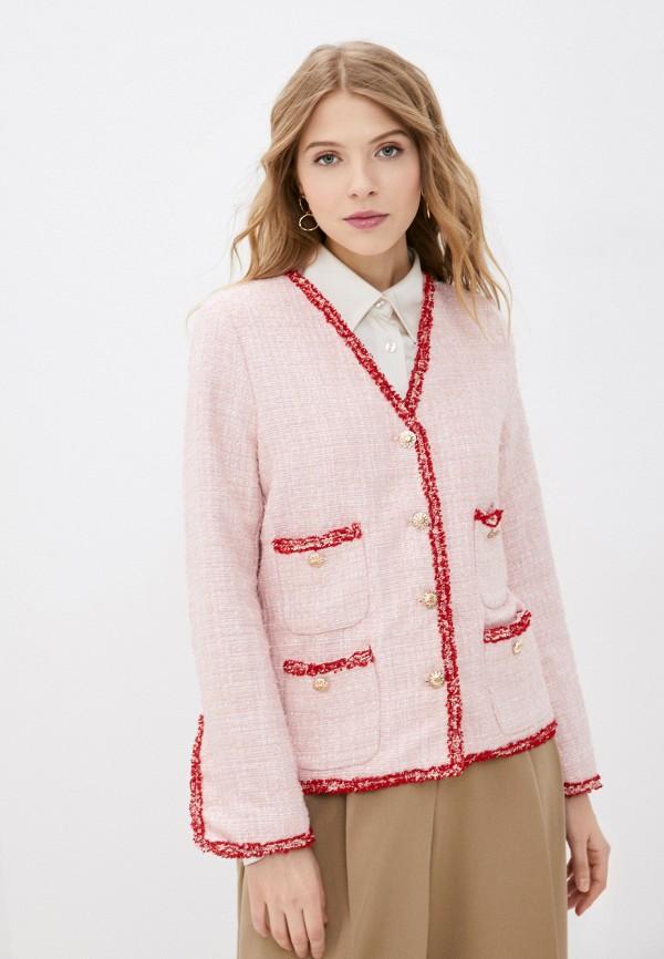 женский жакет sister jane, розовый