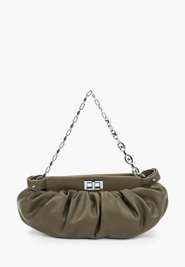 женская сумка через плечо diverius, хаки