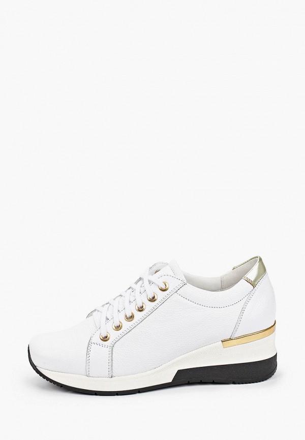 женские кроссовки bosccolo, белые