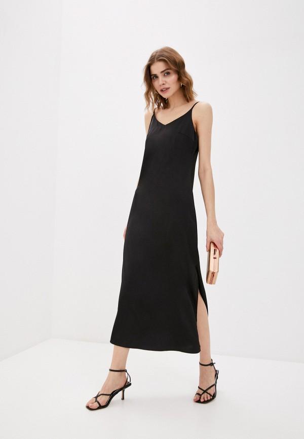 женское платье hey look, черное
