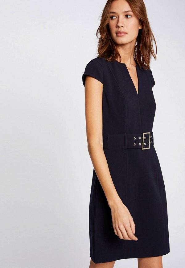 женское повседневные платье morgan, синее