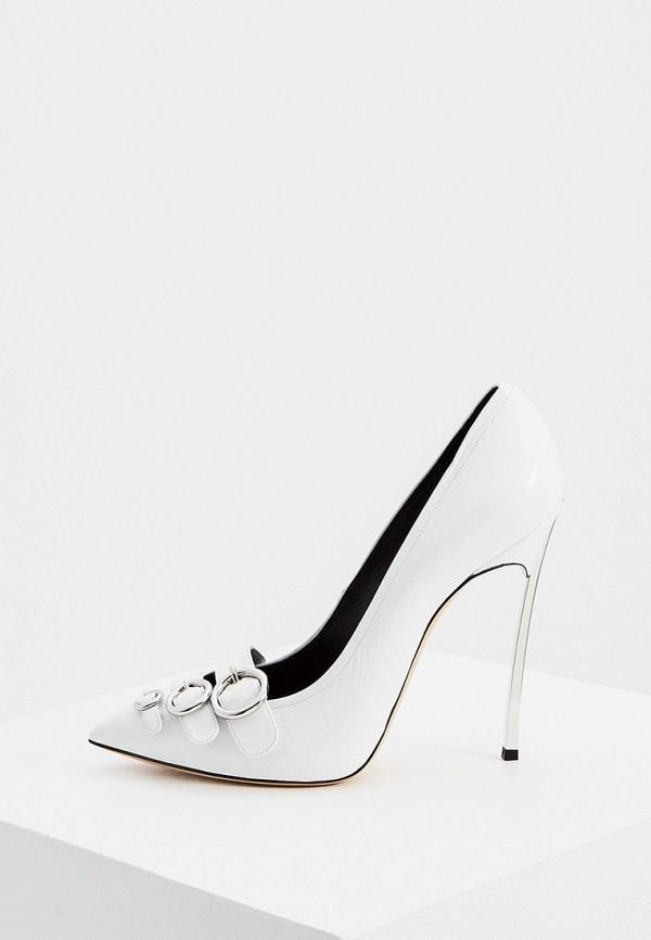 женские туфли casadei, белые