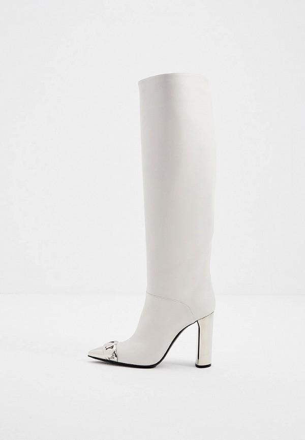 женские сапоги casadei, белые