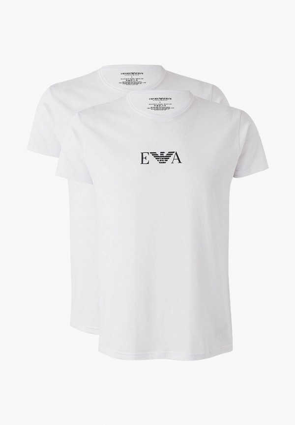 мужская футболка emporio armani, белая
