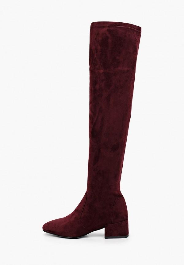 женские ботфорты diora.rim, бордовые