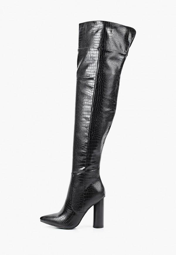 женские ботфорты diora.rim, черные