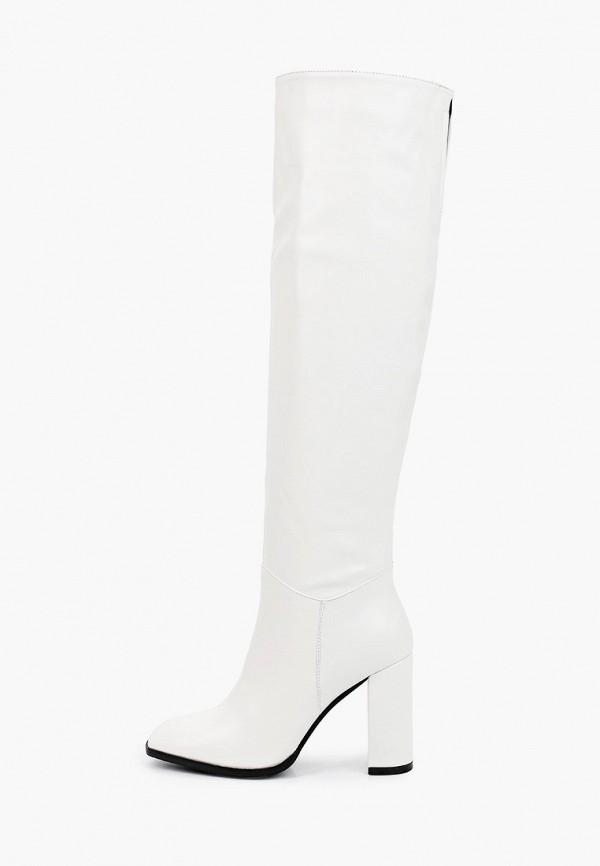 женские ботфорты diora.rim, белые