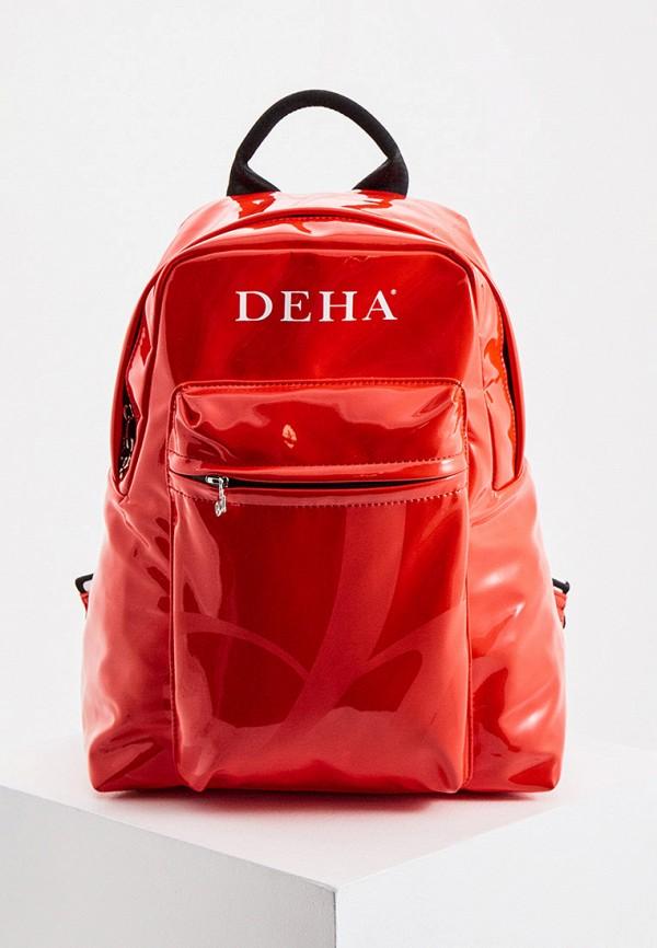 женский рюкзак deha, красный