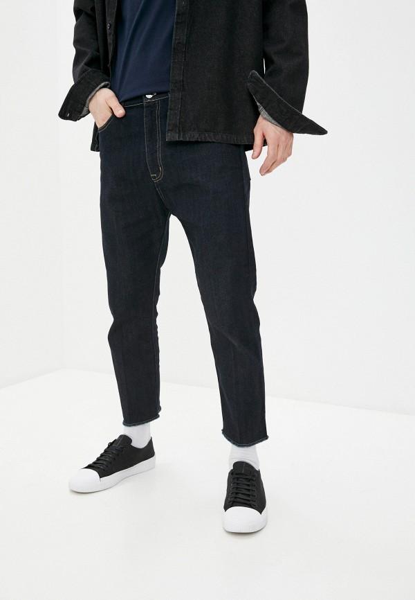 мужские зауженные джинсы n21, синие