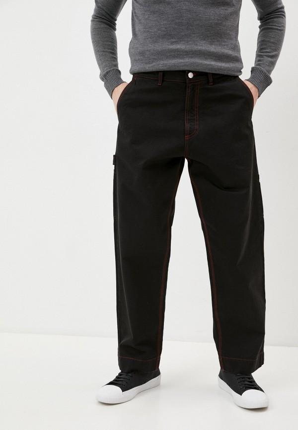 мужские прямые джинсы n21, черные