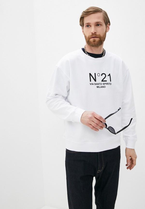 мужской свитшот n21, белый