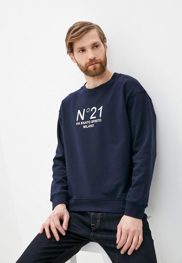 мужской свитшот n21, синий