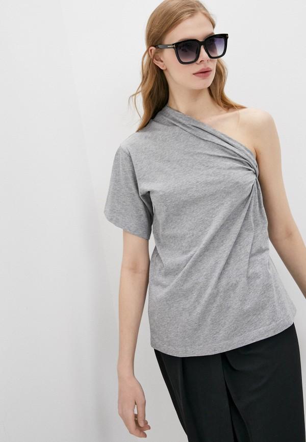 женская блузка n21, серая