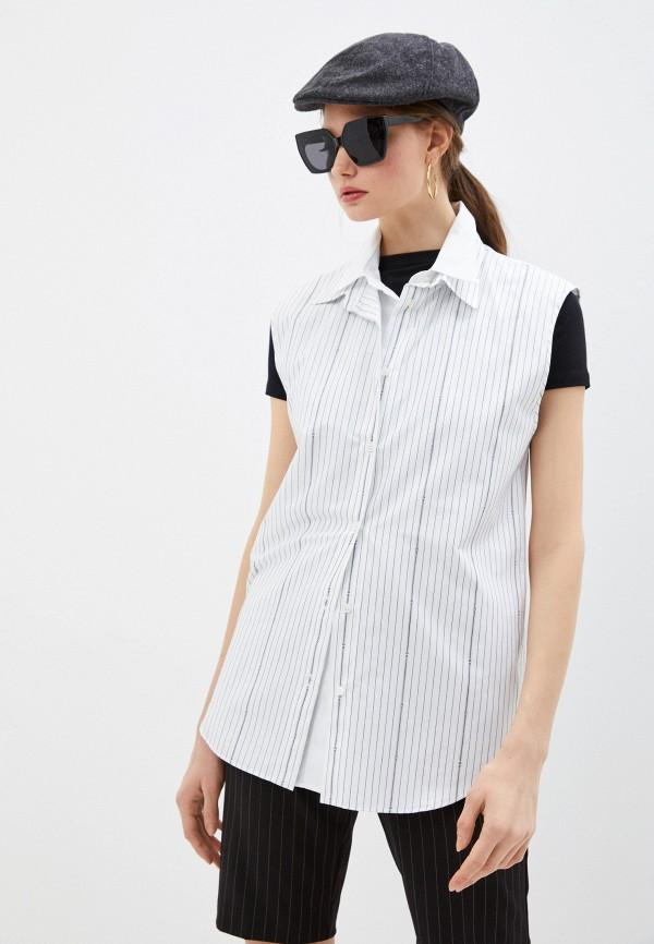 женская блузка n21, белая