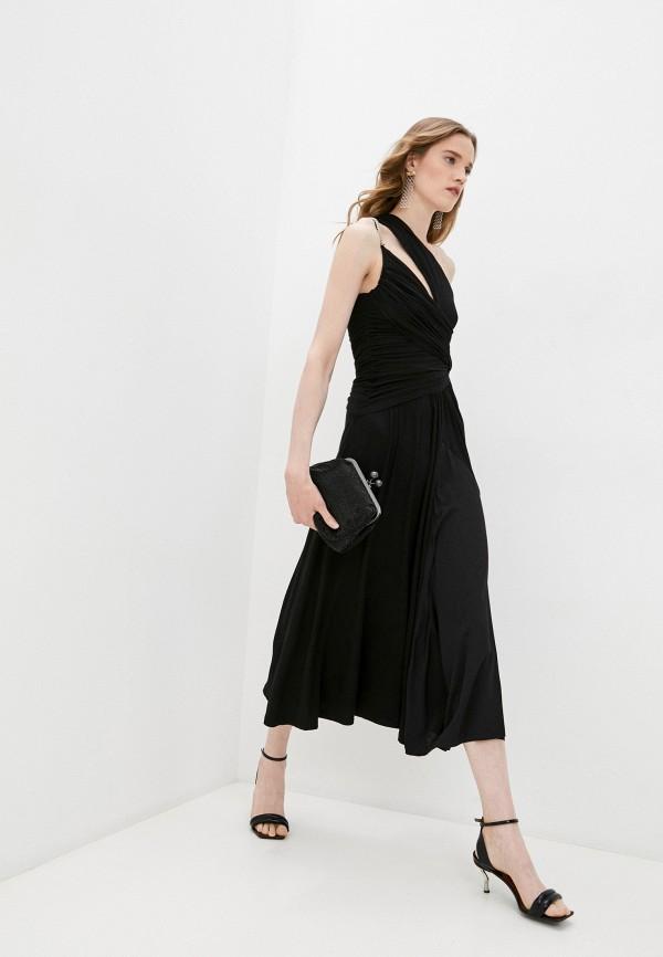 женское вечерние платье n21, черное
