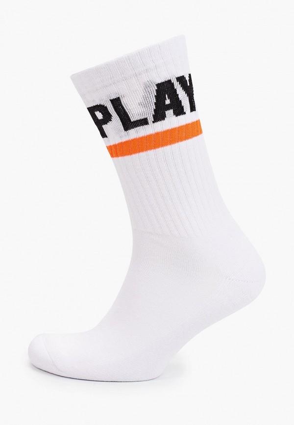 мужские носки ice play, белые