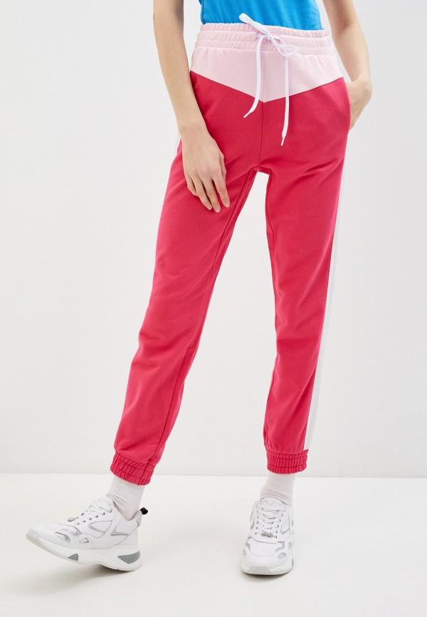 женские спортивные брюки ice play, розовые