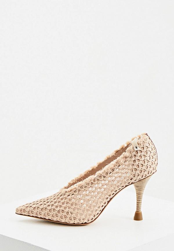 женские туфли premiata, розовые