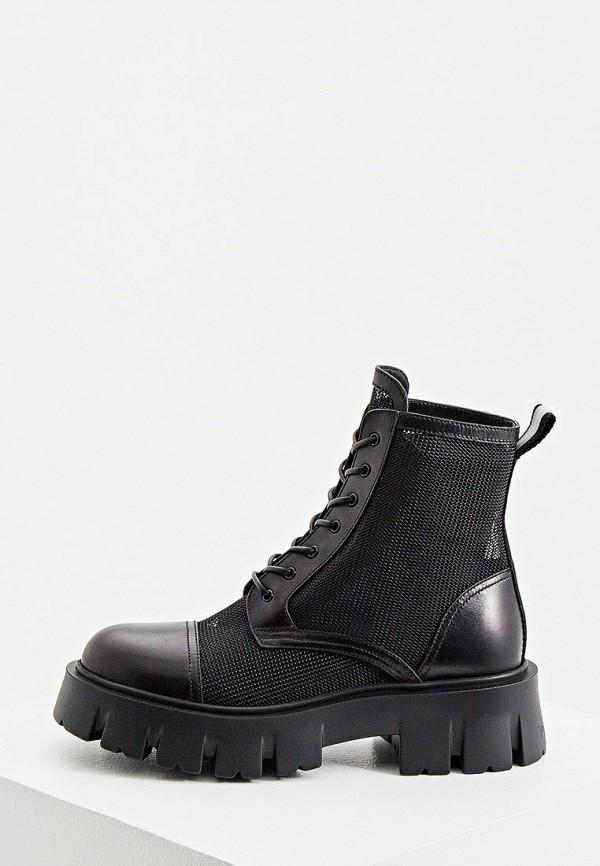 женские ботинки premiata, черные
