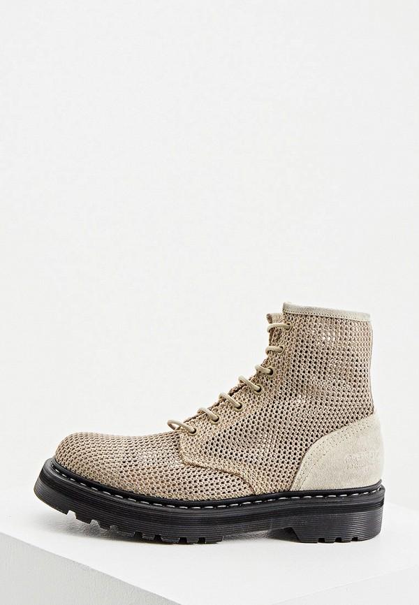 женские ботинки premiata, бежевые