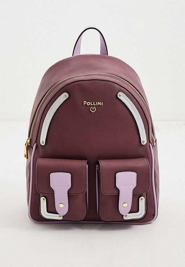 женский рюкзак pollini, фиолетовый