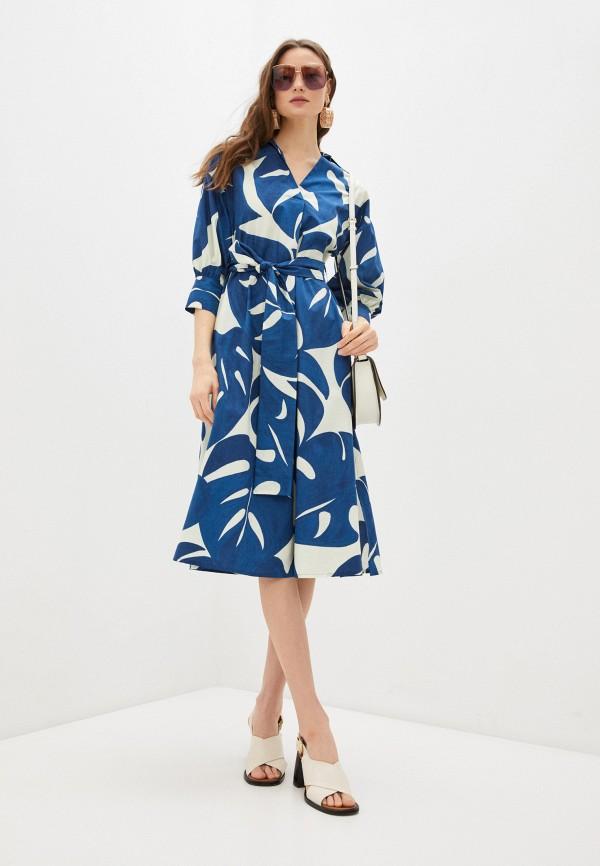 женское повседневные платье seventy, синее