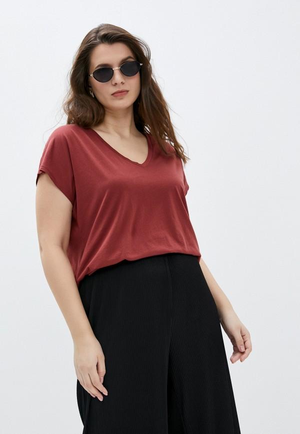 женская футболка seventy, красная