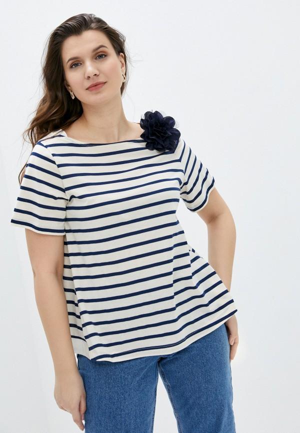 женская футболка seventy, синяя