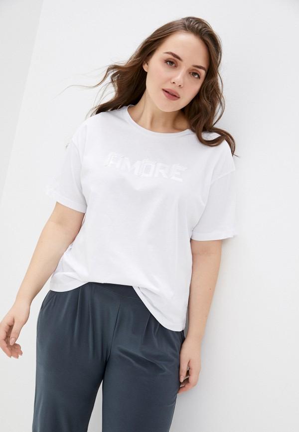 женская футболка seventy, белая