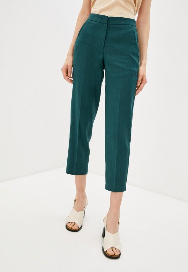 женские повседневные брюки seventy, бирюзовые