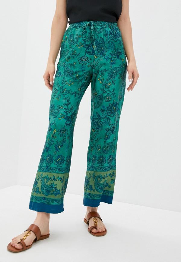 женские повседневные брюки seventy, зеленые