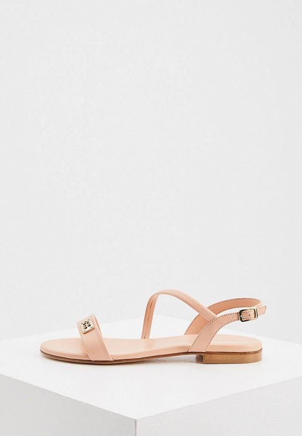женские сандалии baldinini, розовые