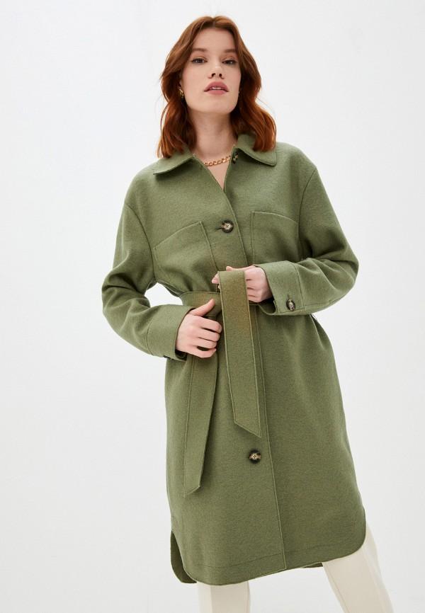 женское пальто marc o'polo, хаки