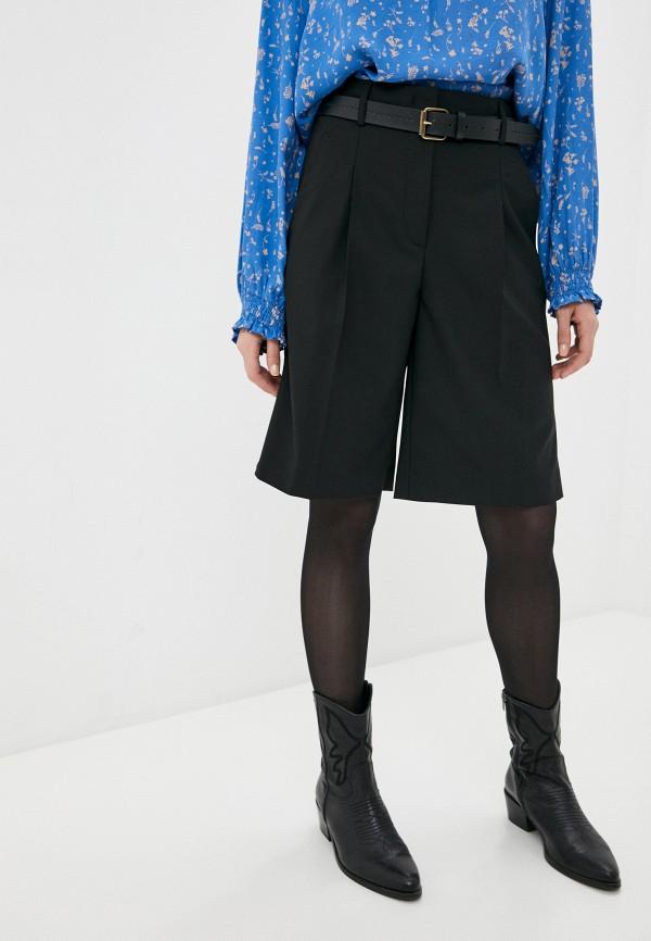 женские повседневные шорты marc o'polo, черные